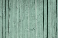 Painted Plain Teal Blue and Gray Rustic Wood Board Background that can be either horizontal or vertical. Blank Room or Space area royalty free stock photo