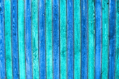 Painted planks Stock Image