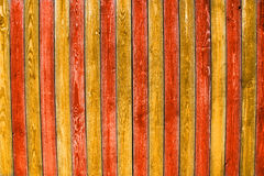 Painted planks Stock Photography