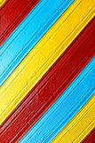 Painted planks Royalty Free Stock Photos