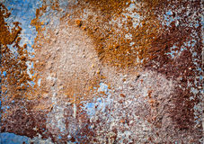 Painted plaster wall texture Royalty Free Stock Image