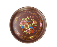 Painted plate Stock Photo
