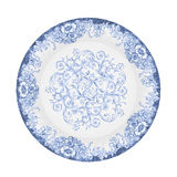Painted plate Stock Image