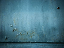 Painted ply wall Stock Photo
