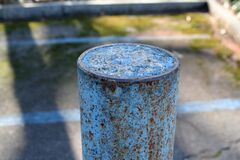 painted post Royalty Free Stock Image