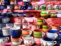 Free Painted Pots Stock Photography - 5152112