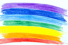 Painted Rainbow Stock Photos