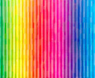 Painted Rainbow Wall Royalty Free Stock Photo