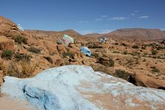 Painted Rocks Stock Photos