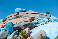 Painted Rocks, Tafraoute, Morocco Royalty Free Stock Photo