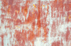 Painted rusty metal background Royalty Free Stock Image
