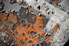 Painted rusty surface texture stock photos