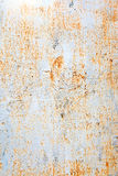 Painted rusty wall Royalty Free Stock Photography