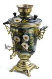 Painted samovar Royalty Free Stock Photos