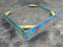 Painted sandbox Royalty Free Stock Image