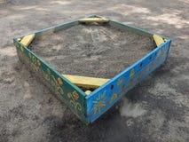 Painted sandbox Stock Photo