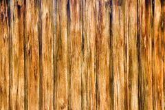 Painted screen of boards Royalty Free Stock Photo