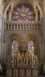 Painted Stained Glass Oxford England Royalty Free Stock Photography