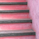 Painted stairs Royalty Free Stock Photo