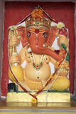 Painted Statue of Ganesha Royalty Free Stock Image