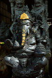 A painted statue of the Hindu elephant god Ganesh (Ganesha) in Ubud, Bali, Indonesia Royalty Free Stock Photos
