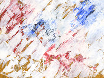 Painted strokes. Painted white on craft strokes  background Stock Photos