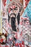 Painted Temple Door Stock Photos
