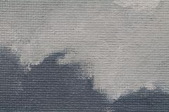 Painted texture background with grey colours. Painted texture background with dark and pale grey colours - Acrylic paint on canvas board stock illustration