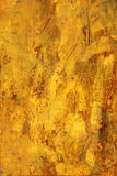 Painted Texture Yellow Background Royalty Free Stock Photography