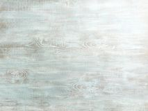 Painted turquoise wood surface Stock Photos
