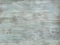 Painted turquoise wood surface Stock Photo