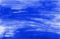 Painted untidy blue background. Painted background with untidy blue color Stock Photography