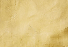 Painted Wall. Background of a yellow painted wall stock image