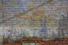 Painted Wall Stock Photography