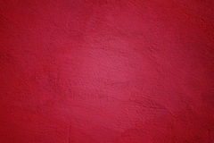 Painted Wall in Magenta Color. Background Made of Painted Wall in Magenta Color with Vignette royalty free stock images