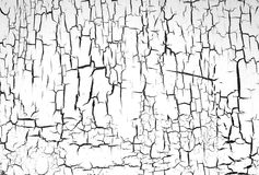 Painted wall white Royalty Free Stock Image