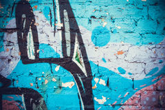 Painted walls Royalty Free Stock Photography