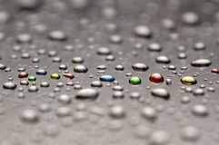 Free Painted Water Drops Royalty Free Stock Photo - 29621895