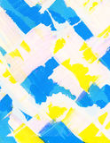 Painted watercolor background. Abstract watercolor background of different shapes, forms Stock Illustration