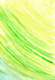 Painted watercolor green Royalty Free Stock Photo