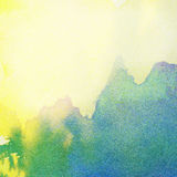 Painted watercolor, ink background Royalty Free Stock Photos
