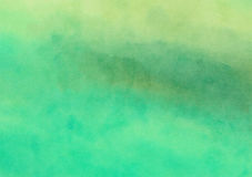 Painted Watercolor Wash Canvas Background. A digitally painted watercolour background texture with blended shades and hues royalty free illustration