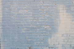 White Brick Wall in Focus stock image
