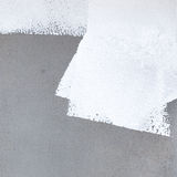 Painted White color for new house Royalty Free Stock Image