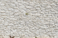 Free Painted White Stone Wall Stock Photos - 69657033
