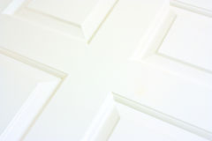 white wooden door detail Royalty Free Stock Photo