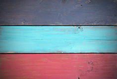Painted wood background Stock Photos