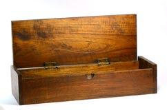 Painted wood box. Royalty Free Stock Photo
