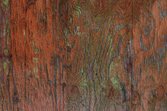 Painted Wood Surface Stock Photo
