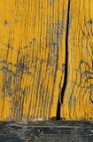 painted wood yellow Στοκ εικόνα με δικαίωμα ελεύθερης χρήσης